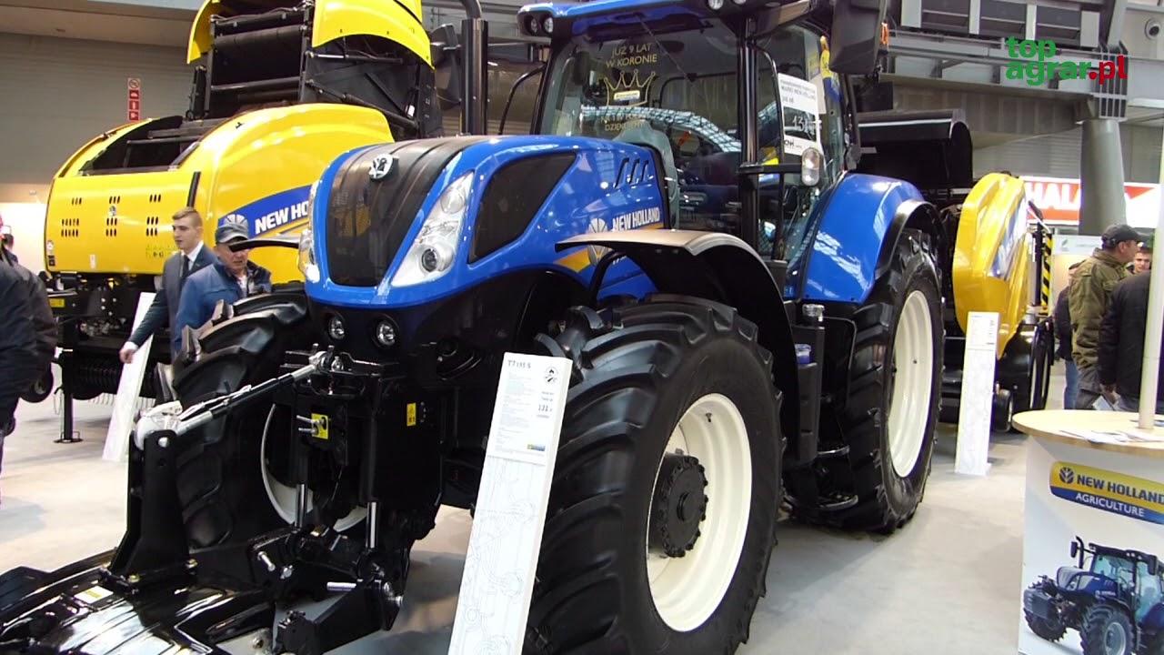 Nowa seria S ciągników New Holland – Agrotech Kielce 2018
