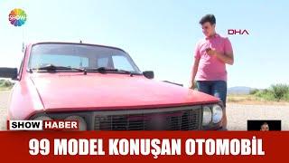 99 model konuşan otomobil