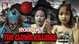 The Clown Killings IT 🎈 | Roblox Tagalog Gameplay - (Hinabol Ako Ni PennyWise)