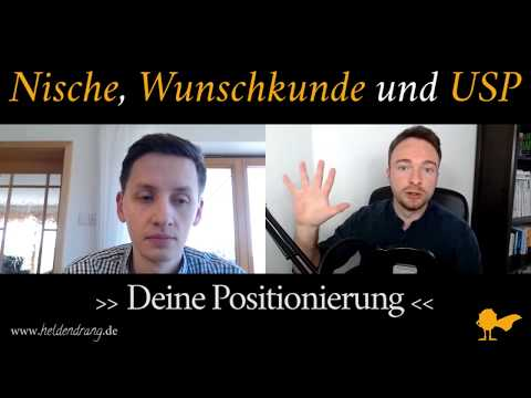 Positionierung - 3 aktuelle Tipps zu deiner Nische, Wunschkunde & USP