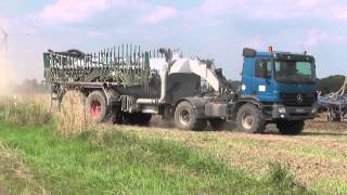 Gülleausbringung , Bodenbearbeitung u. Zwischenfruchtaussaat 2014