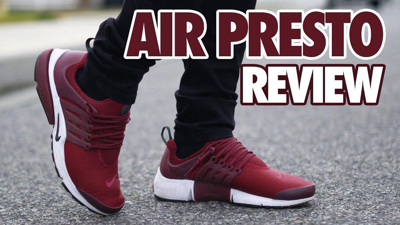 Nike Air Presto Low Burgundy Review +