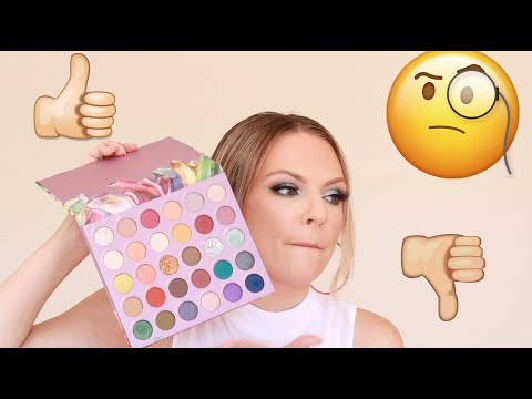 KATHLEEN LIGHTS COLOURPOP SO JADED COLLAB PALETTE REVIEW thumbnail