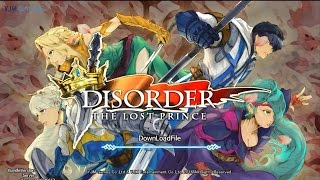 Disorder: The Lost Prince