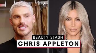 Chris Appleton Shows Off Kim Kardashian West's Hair Collection | Beauty Stash