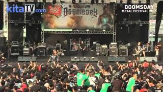 BURGERKILL   Live At Event DOOMSDAY Metal Festival 2015   Bagian 1 3 HD