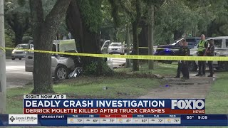 Driver killed in crash on Government Street