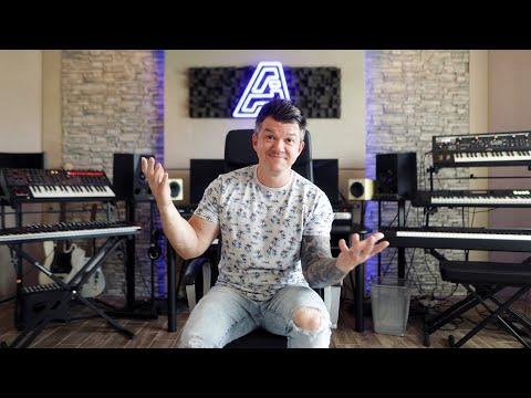 Home Studio Setup 2021   Dream Home Studio Tour with Adam Ivy
