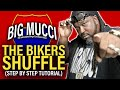 Big Mucci - Bikers Shuffle step By Step Instructional By The Creator. video