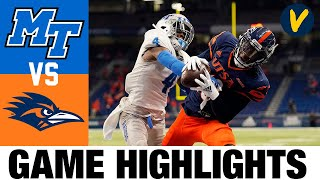 Middle Tennessee vs UTSA Highlights | Week 4 College Football Highlights | 2020 College Football