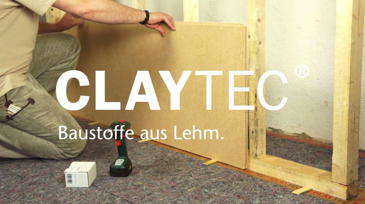 Lehm-Trockenbau mit CL...