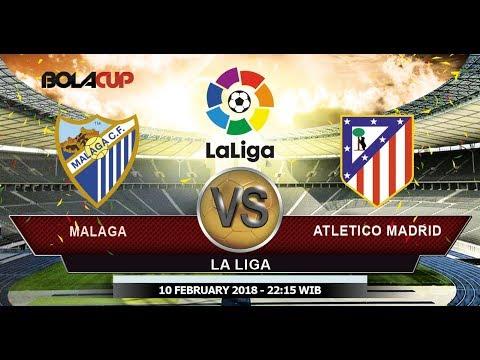 Live Streaming La Liga Malaga Vs Atletico Madrid Babak 2