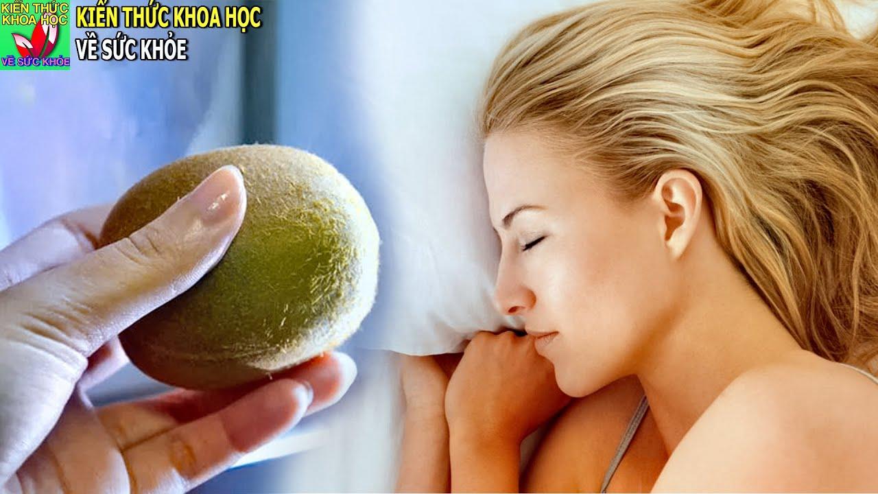 Siêu thực phẩm trị mất ngủ giúp dễ ngủ và ngủ ngon