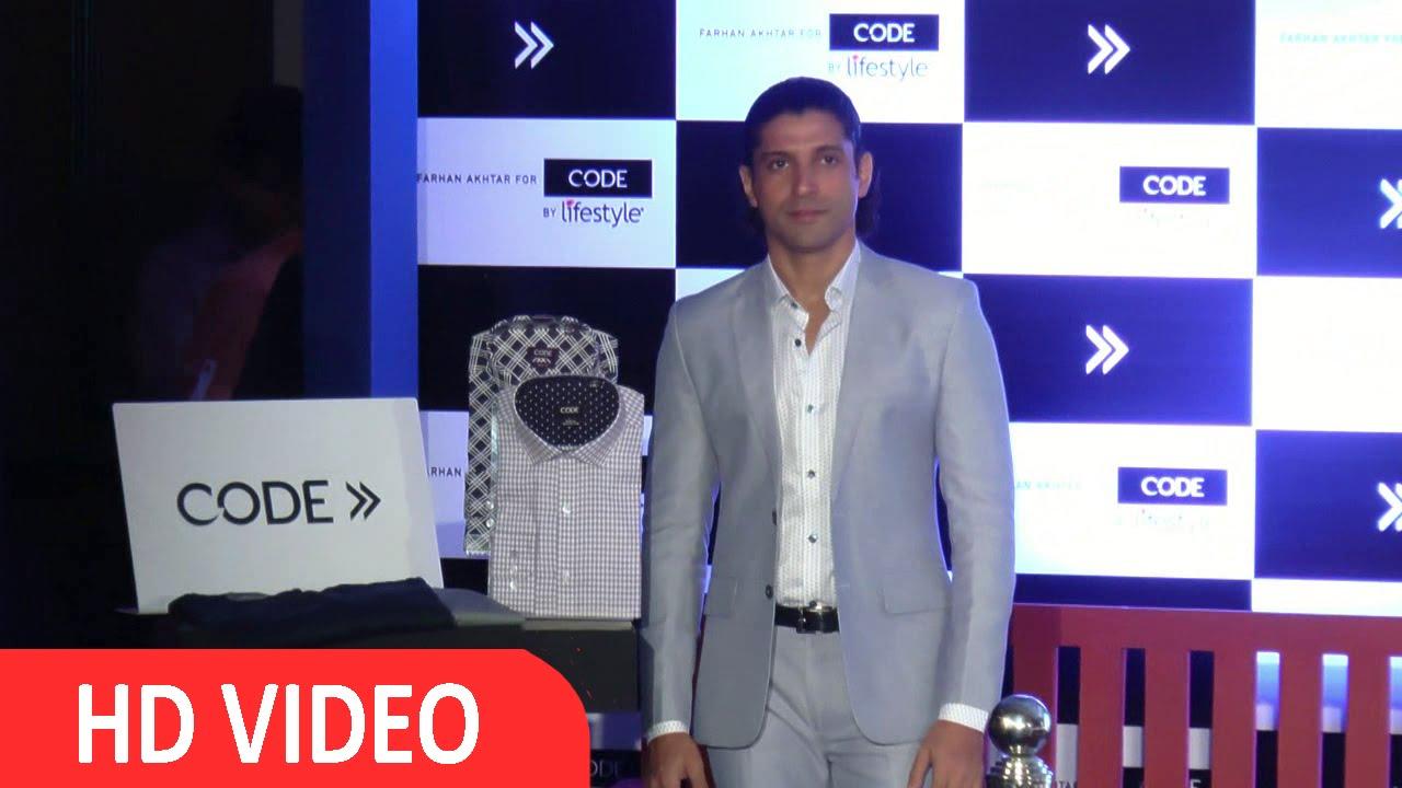 22622c387d Farhan Akhtar Brand Ambassador For Code By Lifestyle UNCUT