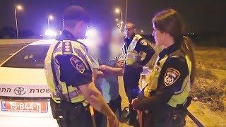 משמרת לילה עם קצין אגף התנועה