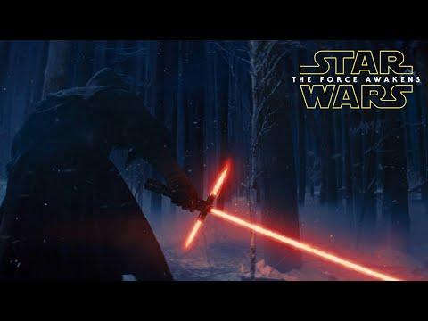 Kylo Ren Ignites The Lightsaber Star Wars The Force Awakens