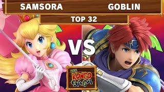 2GG Kongo Saga - eUnited | Samsora (Peach) Vs APE | Goblin (Roy) Top 32 Winners - Smash Ultimate