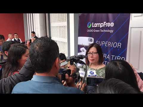 Casio Y Su Distribuidor En Perú, Proyectos Multimedia, Presentaron En Trujillo Proyectores LampFree