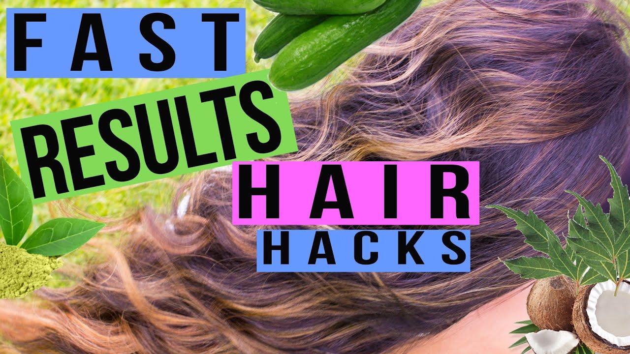 6 DIY HAIR HACKS FrizzyHair LossThinning HairDandruffDry