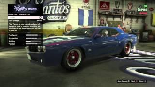 GTA V custom Gauntlet spawn location PS4