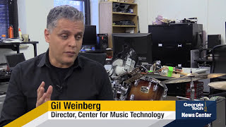 Robot allows musicians to become three-armed drummers