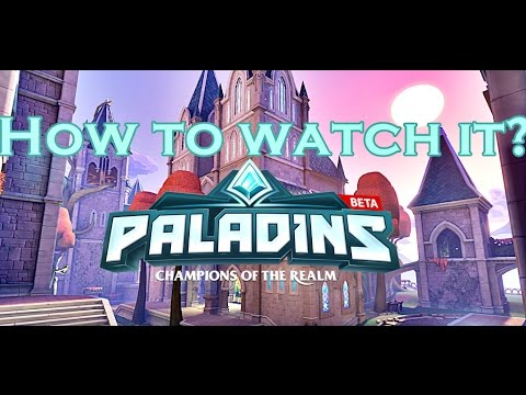 How to watch replay/specate in Paladins? Bonus Console Commands!