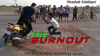 'Free Ryderz[FRz] | Allahabad Bike Stunts | 'Shadab Siddiqui aka (Immy TheRyder)