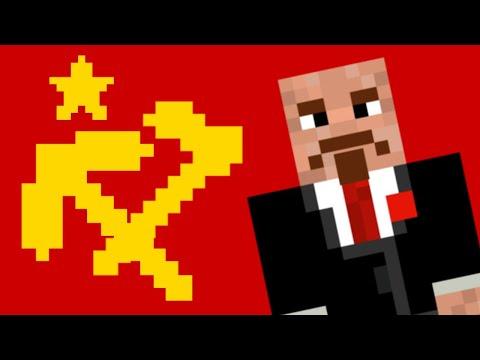 Soviet March but it's in Minecraft