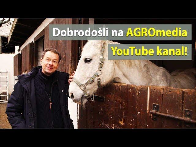 Dobrodošli na AGROmedia YouTube kanal!