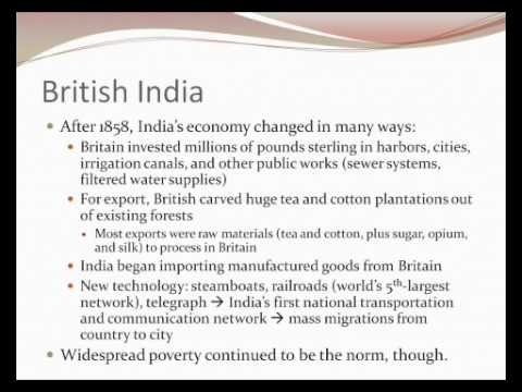 33. British Imperialism in India and the Pacific