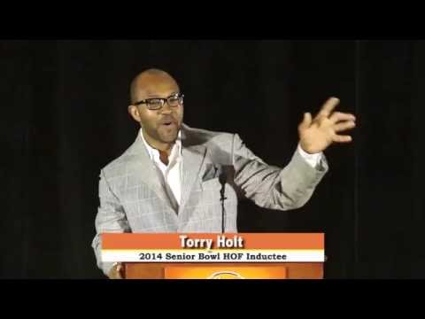 Torry Holt: Senior Bowl Hall of Fame (2014)