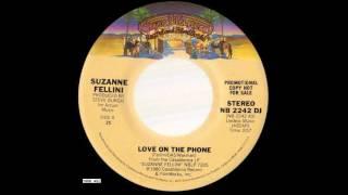 1980_450 - Suzanne Fellini - Love On The Phone - (45)(promo)(Mono & stereo version)