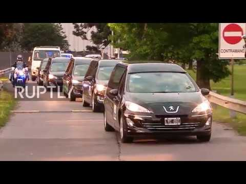 Argentina: Bodies of friends killed in NYC terror attack arrive home