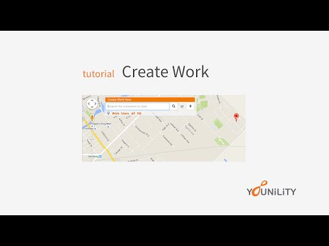 Create Work - Tutorial