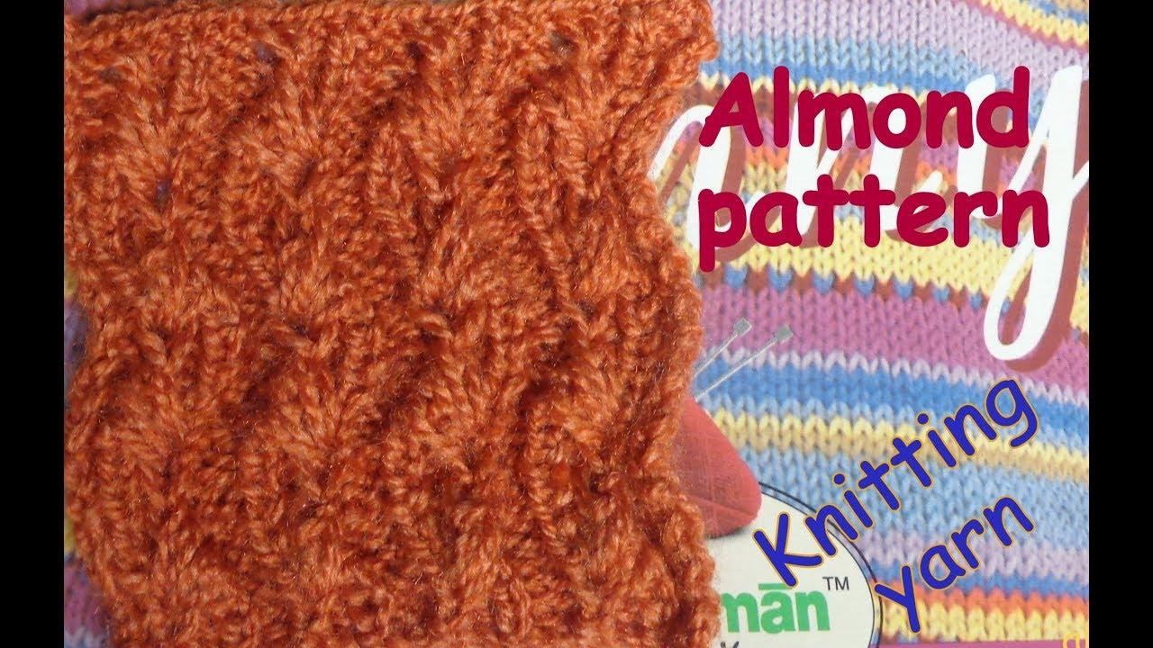 3c268c3b2 Almond flower design (Hindi urdu). Knitting yarn