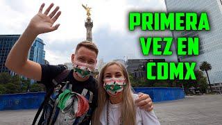 NUESTRA PRIMERA VEZ en CIUDAD de MÉXICO | RUSOS REACCIONAN a CDMX | PROBAMOS COMIDA MEXICANA