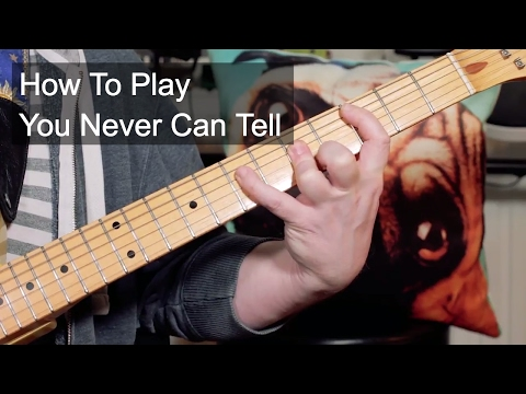 'You Never Can Tell' Chuck Berry Guitar Lesson