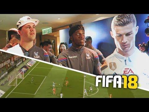 PLAYING FIFA 18 EARLY WITH WILFRIED ZAHA!!!