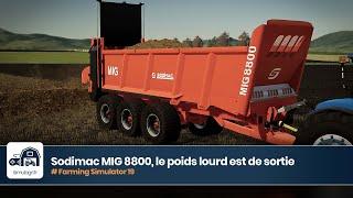 "[""farming simulator"", ""cattle and crops"", ""pure farming"", ""spintires mudrunner"", ""remorques"", ""mod"", ""FS 19"", ""LS 19"", ""épandage"", ""épandeur"", ""manure spreader"", ""sodimac"", ""MIG 8800""]"
