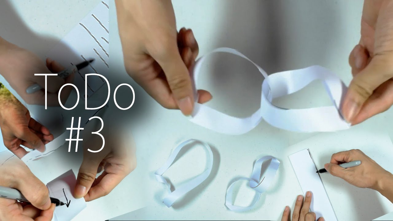 how to cut link paper ring