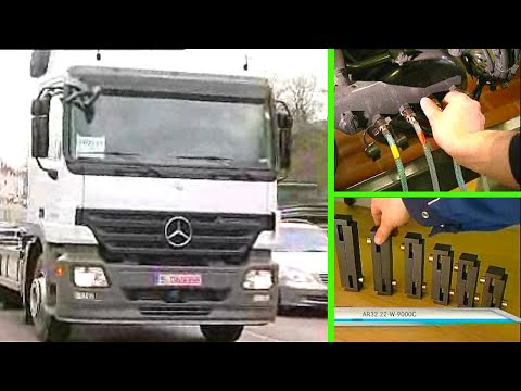 Mercedes Benz | Calibrate Level Control (fully Air-sprung Vehicle With Lift Axle)