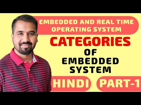 Categories Of Embedded System Part-1 Explained In Hindi L Embedded And Real Time Operating System