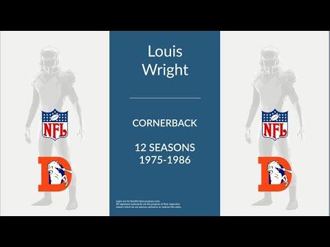 Louis Wright: Football Cornerback