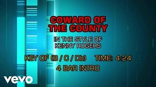 Kenny Rogers - Coward Of The County (Karaoke)
