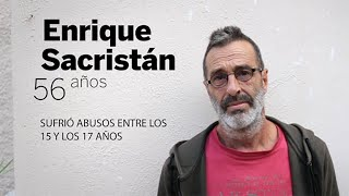 Víctimas de abusos de la Iglesia española: Fernando García-Salmones y Enrique Sacristán