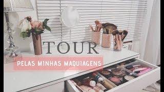 TOUR PELAS MINHAS MAQUIAGENS l Ariel Martins