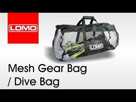 Lomo Mesh Gear Bag / Dive Bag