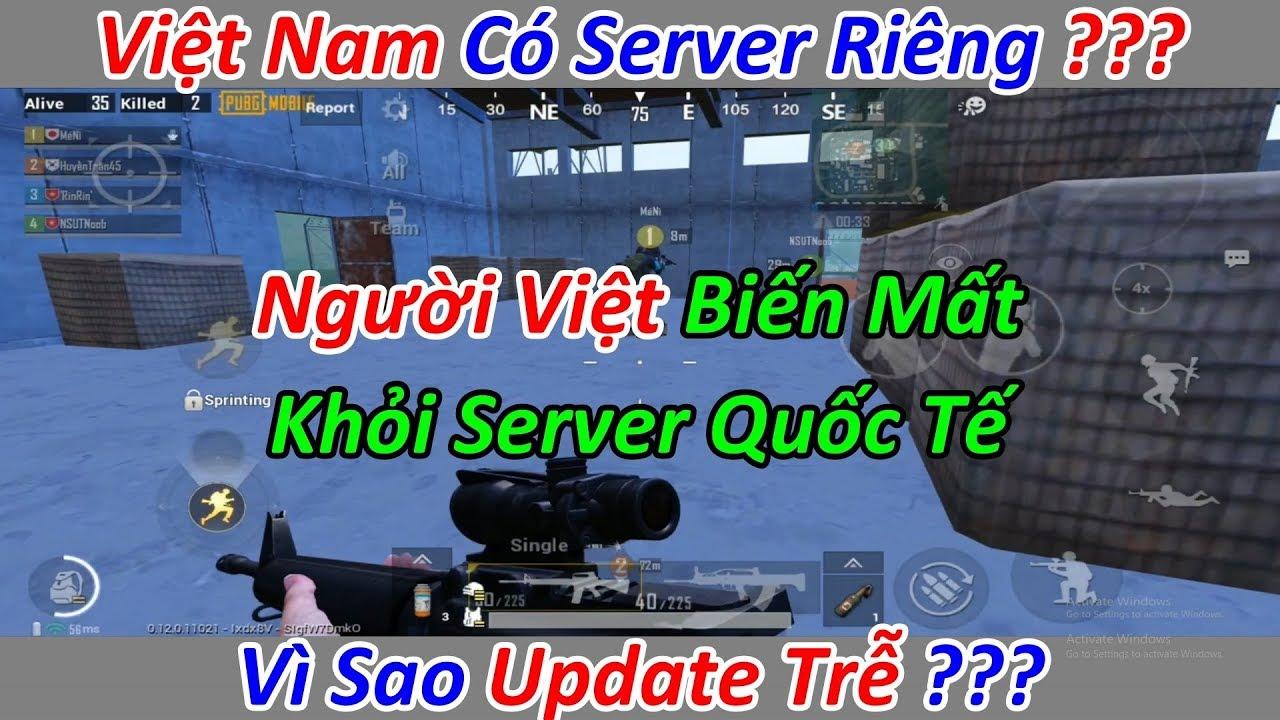 Download PUBG Mobile VNG Là Server Riêng Của Việt Nam Và Biến Mất Khỏi Bản Quốc Tế