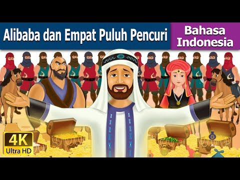 Alibaba dan Empat Puluh Pencuri | Dongeng anak | Kartun anak | Dongeng Bahasa Indonesia