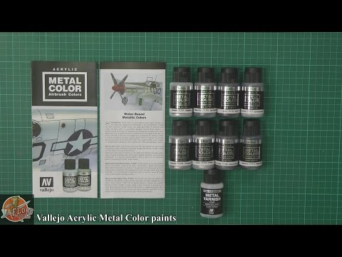 Vallejo Metal Color Acrylic paints Review